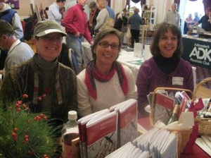 Three Poets at Chronicle Book Fair with Winterberry, Pine